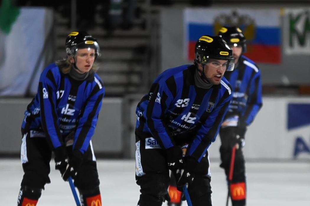 Hörnor sänkte blåsvart i Söderhamn